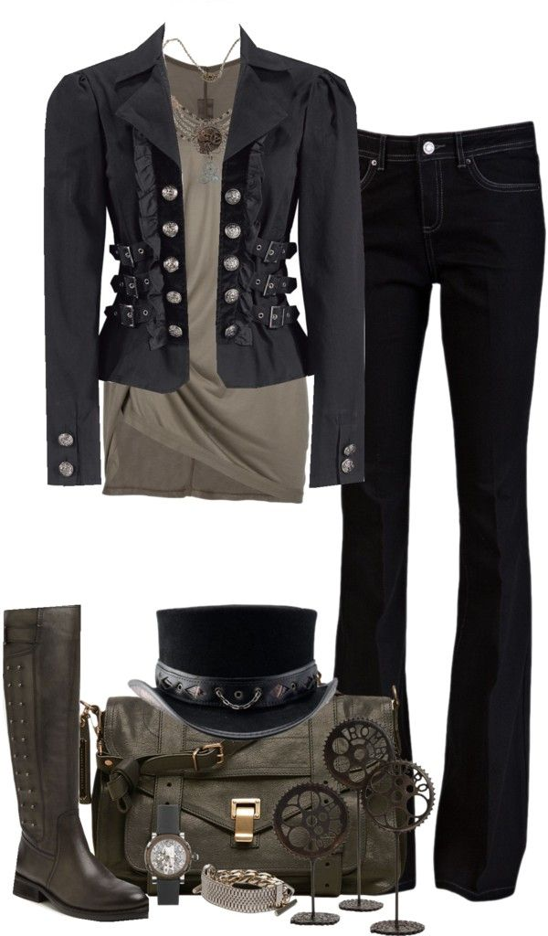"""I want this outfit! """"Steampunk Contest"""" by partywithgatsby on Polyvore"""