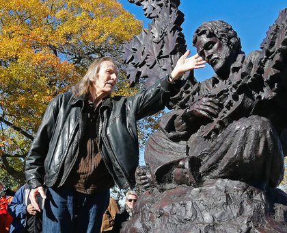 Image result for gordon lightfoot statue in his honour