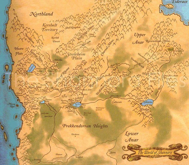 Mapa Shannara