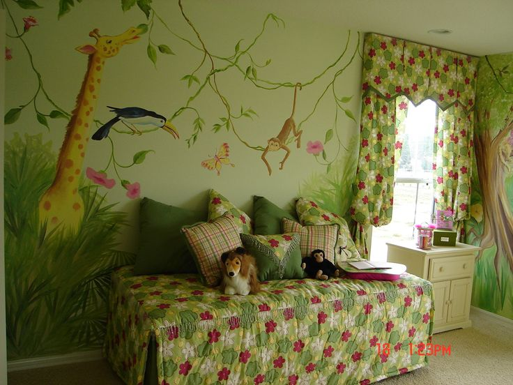 25 best images about mural ideas on pinterest clip art for Children wall mural ideas