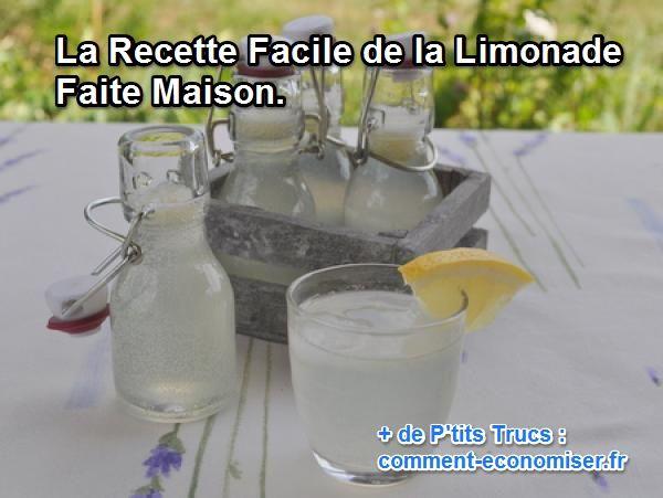 comment faire de la limonade soi-même à la maison