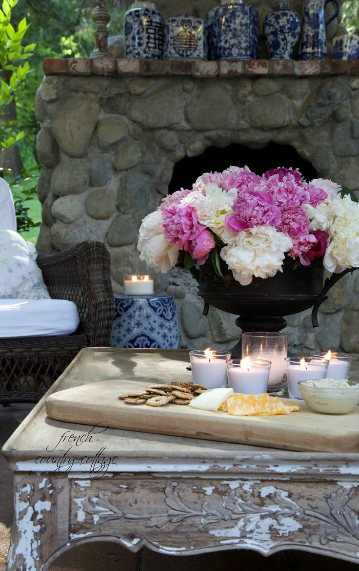 Courtney at french country cottage decorated the kitchen - French Country Cottage The First Time I Fell In Love