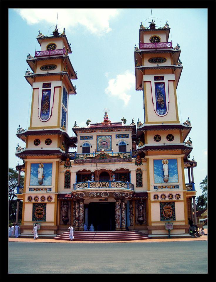 Vietnam, Cao Dai Tempel