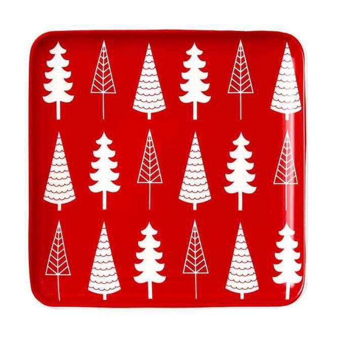 NOELLA TREES - świąteczny talerz do serwowania Ladelle - NieMaJakwDomu