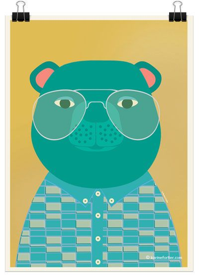 Bear-are-cool-karine-fortier-illustration