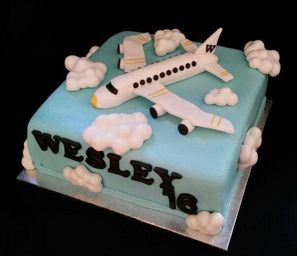 Airplane cake / vliegtuig taart