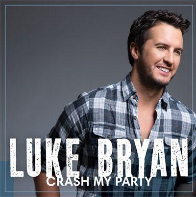 LUKE BRYAN'S NEW ALBUM #CrashMyParty