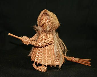 Wiklina Witch Toy