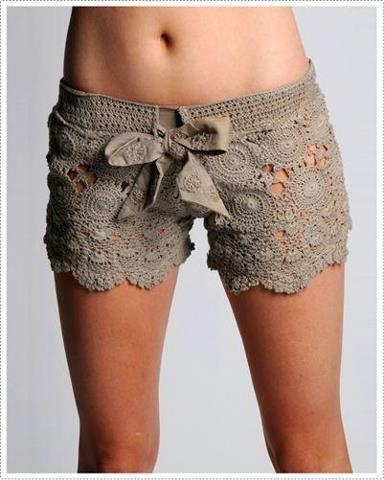 These would be adorable over a bathing suit