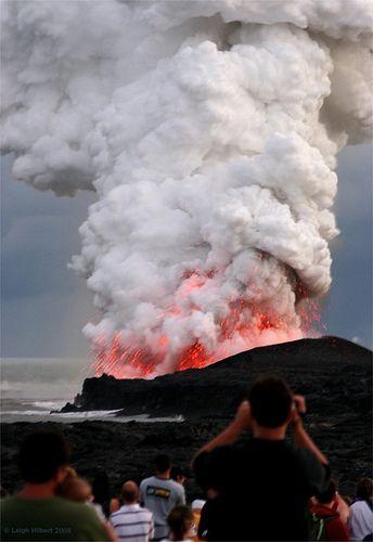 ~ Pele Roars ~  { Pay-Lay the volcano goddess)