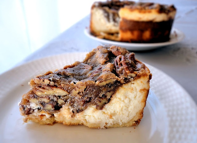 Pecan Pie Cheesecake - new classic for thanksgiving!