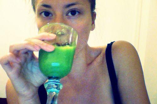 Зеленый смузи на поздний ужин | Salatshop ♥ You