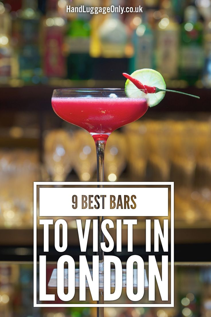 9 Of The Best Bars In London - Hand Luggage Only - Travel, Food & Photography Blog