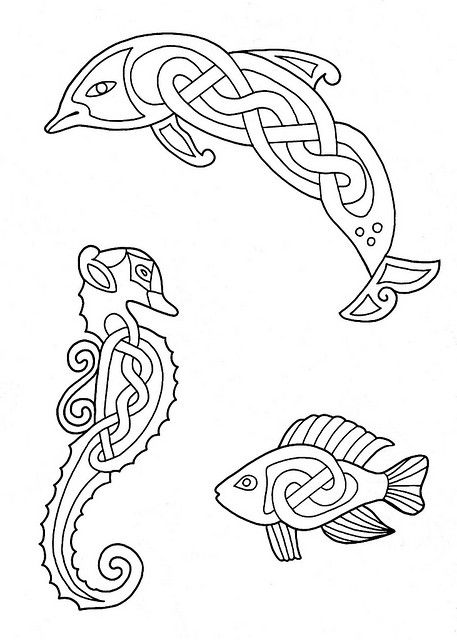 Celtic Design 047 by peacay, via Flickr