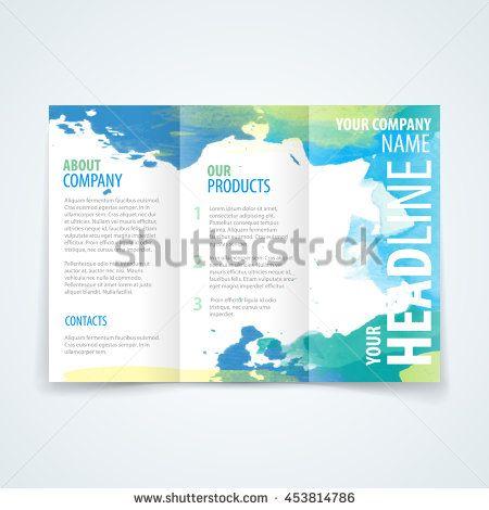 32 best Tri-fold brochure design images on Pinterest Vector - tri fold brochure
