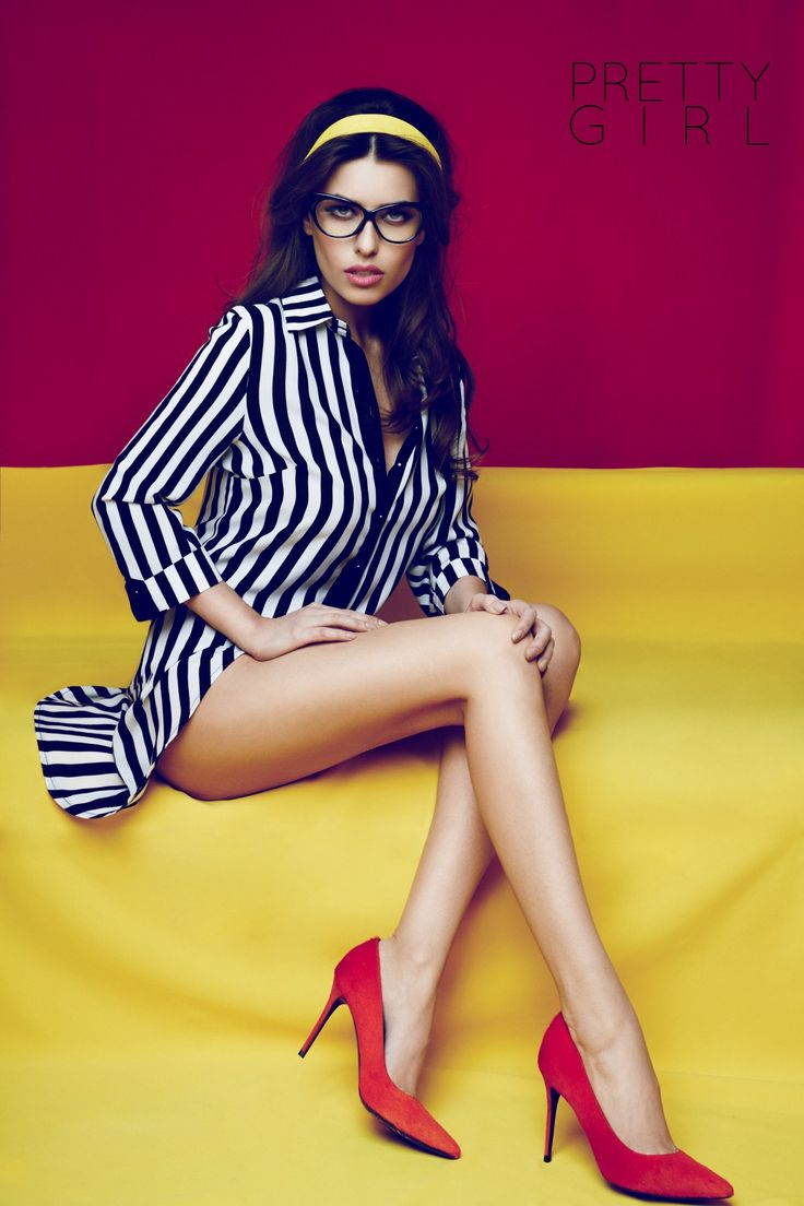 Wear stripes for a slimmer look.