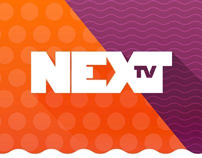"""查看此 @Behance 项目:""""NEXT TV - Rebranding""""https://www.behance.net/gallery/20008745/NEXT-TV-Rebranding"""
