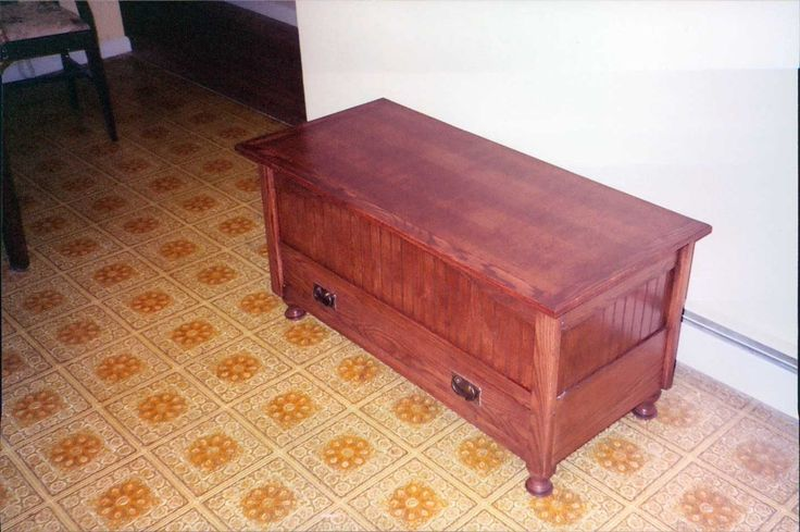 Free Mission Style Blanket Chest Plans Woodworking