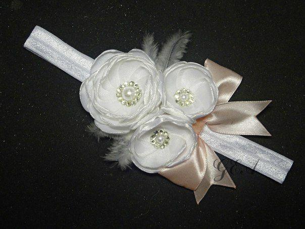 Украшения с цветами канзаши!Ободки,заколки, повя | VK