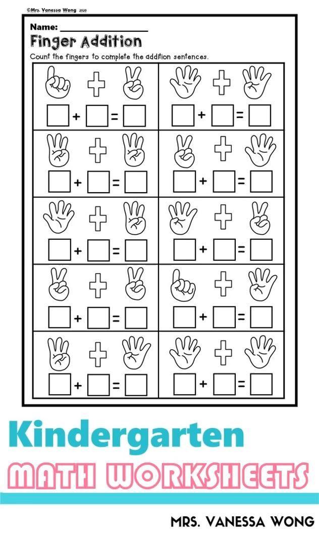 Kindergarten Math Worksheets Picture Addition Distance Learning Video Kindergarten Math Worksheets Kindergarten Math Worksheets Free Preschool Math Worksheets