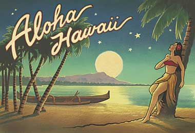 "Vintage Hawaii – opinions on my theme? - Weddingbee  [Do people actually say ""aloha"" anymore?]"