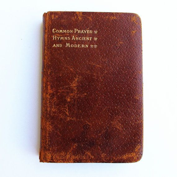 The Book of Common Prayers And by ArtVintageCraftShop on Etsy