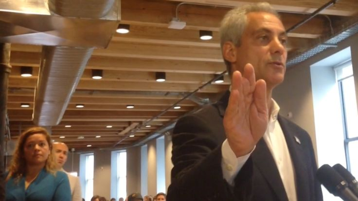 "Emanuel on 'fetal' cops comment~ The second deviant phrase I found was ""cops have gotten ""fetal."", a comment made by the mayor of Chicago concerning a rise in police brutality."