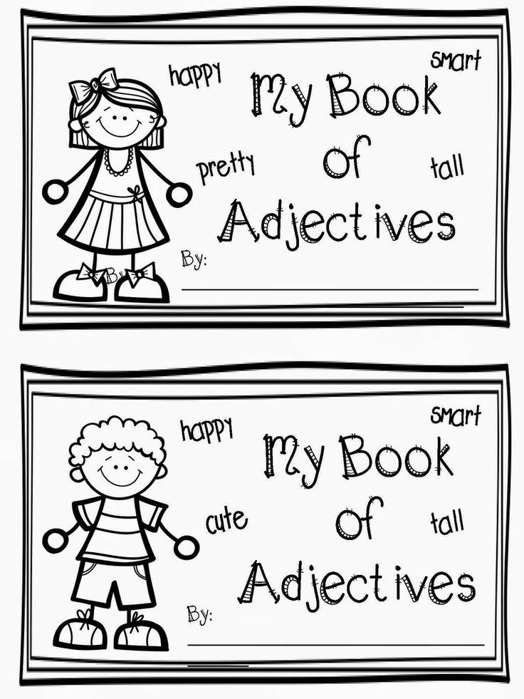 Worksheets For 1st Grade Teacher : Best first grade adjectives images on pinterest