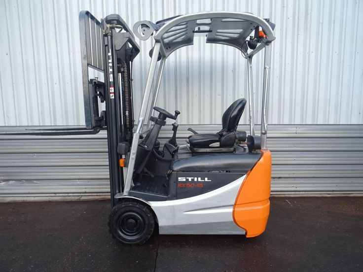3W STILL RX50-13. 3400mm LIFT. USED ELECTRIC FORKLIFT TRUCK. (53012
