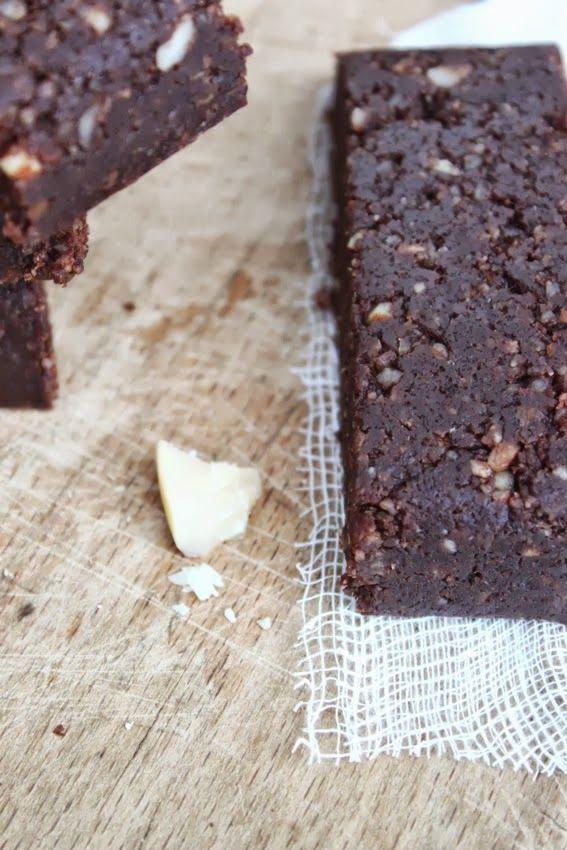 Green recipes entre amis: Raw cacao & coco bars