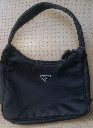 7019f8f7461 PRADA MILANO SMALL SATCHEL BLACK NYLON HANDBAG Checking out the Prada  handbags on sale or Prada handbags sale then Click VISIT link for more info  ...
