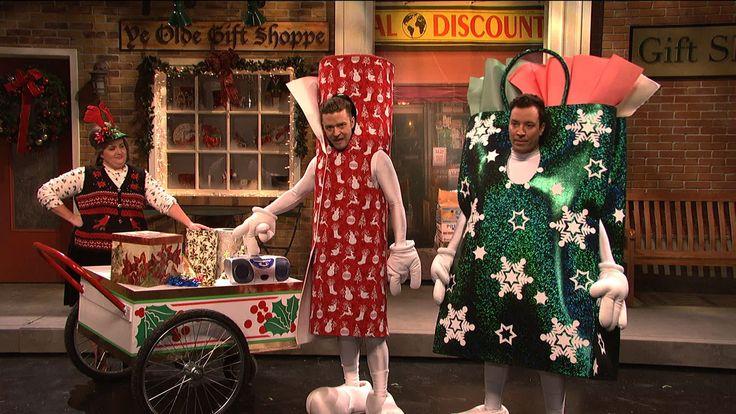 An SNL Christmas 12/2013 | Saturday Night Live - Jimmy Fallon host; Justin Timberlake musical guest.