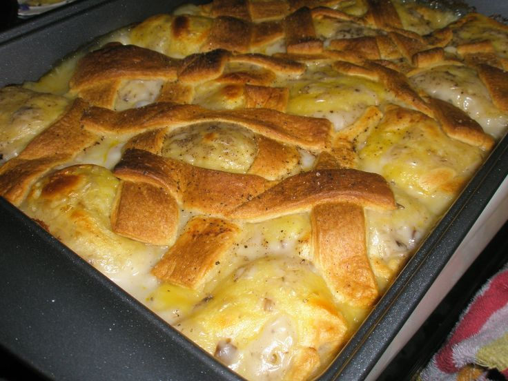 Chicken and Dumps--so easy to make and delicious!  I've made it twice this week…