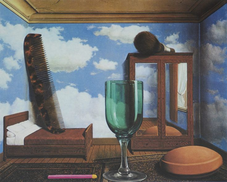 Magritte Personal Values 1952 Rene Magritte Magritte