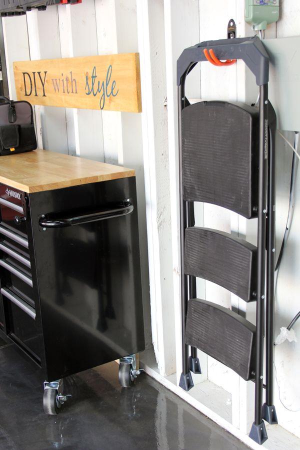 Brilliant Ways To Organize The Garage Garage Storage Solutions Garage Storage Garage Organization Diy