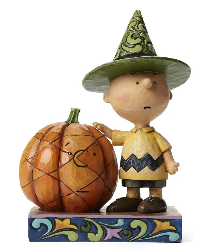 Take a look at this Peanuts Halloween Charlie Brown Figurine today!