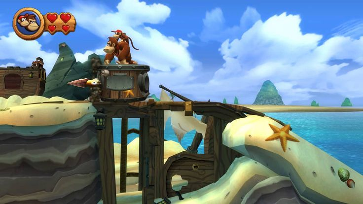 Donkey Kong Country Returns - 2-6 Blowhole Bound (1080p FullHD) [Gameplay Walkthrough] No Commentary Donkey Kong Country Returns 3D (2010) ドンキーコングリターンズ Donkī Kongu Ritānzu The series was revived by Retro Studios with the launch of Donkey Kong Country Returns for the Wii in 2010.[21] It is the series' fifth entry and the first not to involve Rare during its development. The game's story focuses on a group of evil creatures called Tikis known as the Tiki Tak Tribe that arrive on Donkey Kong…