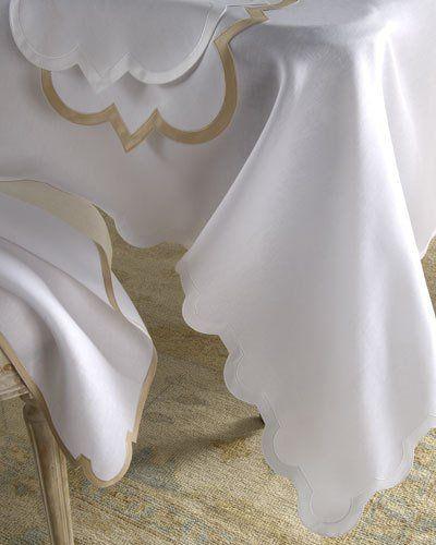 "Mirasol Oblong Tablecloth, 70"" x 108"""