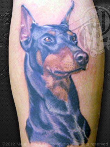 Doberman tattoo | Doberman Tattoo