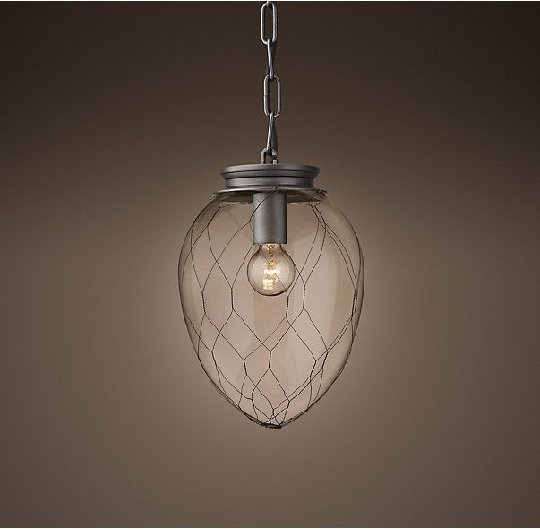 parisian architectural clear glass banque pendant bright special lighting honor dlm