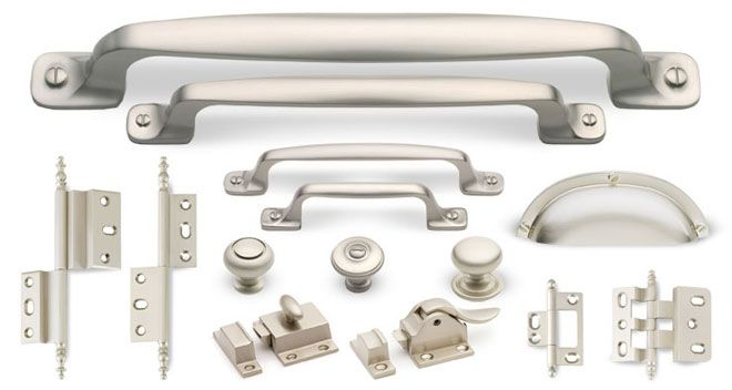 Artisan Series In Silver Satin Finish Satin Nickel The