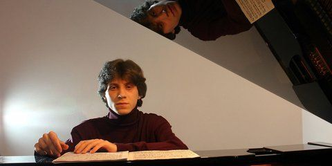 Rafał Blechacz won the 15th International Chopin Piano Competition.