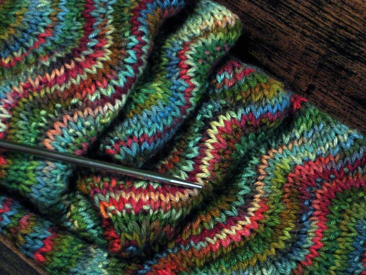 apple tree scarf