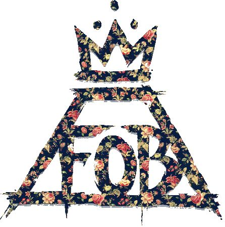 transparent Fall Out Boy insignia. Important.