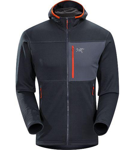 Arc'teryx Fortrez Hoody - durable, midweight, hardfleece jacket