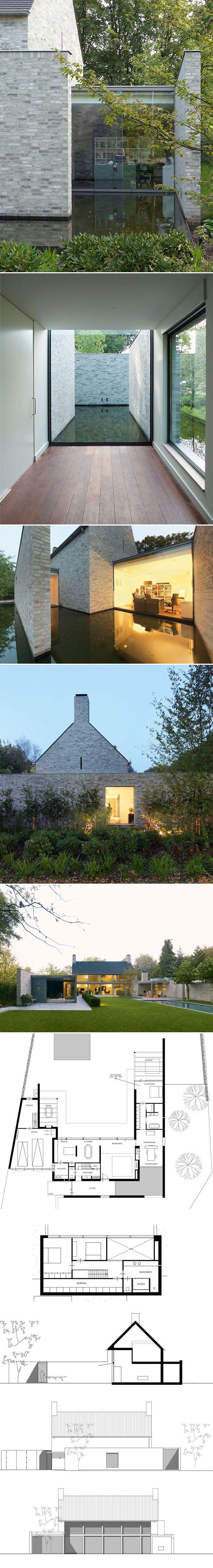 Villa rotonda par bedaux de brouwer architecten