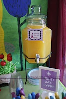 Tangled Rapunzel party magic golden flower punch, and many, many more AWESOME ideas for a Tangled party!