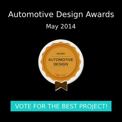 Automotive Design Awards (May 2014). Vote now! http://freelancers3d.com/automotive-design-awards-may-2014