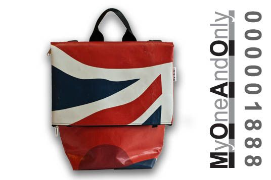 MyOneAndOnly CRETA. All Day bag made from reused banners. www.econdesign.gr