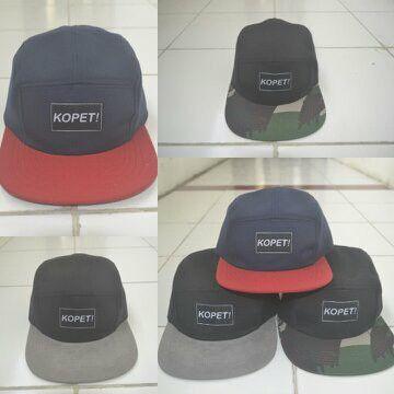 Kopet! #5panel #hat #topi